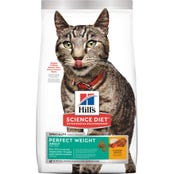 Hill's Science Diet Feline Adult Perfect Weight Dry Cat Food - 1.3kg