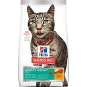 Hills Science Diet Feline Perfect Weight Dry Cat Food - 3.17kg