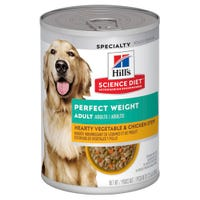 Hill's Science Diet Adult Dog Perfect Weight Chicken Dog Wet Food - 363g