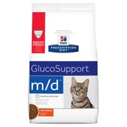 Hill's Prescription Diet Feline M/D Glucose and Weight Management Dry Cat Food - 1.8kg