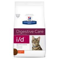 Hills Prescription Diet Feline I/D Digestive Care Dry Cat Food - 1.8kg