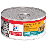 Hill's Science Diet Adult Cat Savoury Chicken Entree Wet Cat Food - 156g