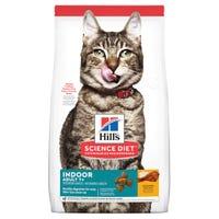 Hill's Science Diet Adult 7+ Indoor Dry Cat Food - 1.58kg