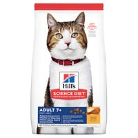 Hill's Science Diet Mature Cat 7+ Chicken Recipe Dry Cat Food - 3kg
