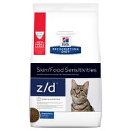 Hill's Prescription Diet Feline Z/D Skin and Food Sensitivities Dry Cat Food - 1.8kg