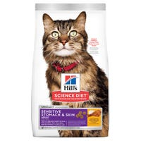 Hills Science Diet Feline Sensitive Stomach & Skin Dry Cat Food - 1.6kg