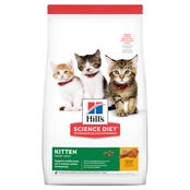 Hills Science Diet Feline Kitten Dry Cat Food - 1.58kg