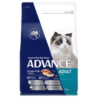 Advance Adult Cat Total Wellbeing Ocean Fish Dry Cat Food - 3kg