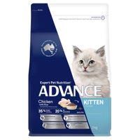 Advance Kitten Growth Chicken Dry Cat Food - 3kg