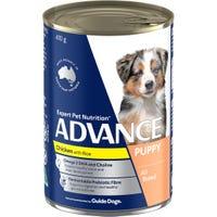 Advance Puppy Plus Chicken Wet Dog Food - 410g