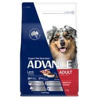 Advance Adult All Breed Lamb Dry Dog Food - 3kg