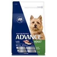 Advance Adult Small Breed Lamb Dry Dog Food - 3kg
