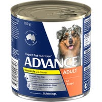 Advance Adult Dog Chicken Casserole Wet Dog Food - 700g
