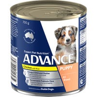 Advance Puppy Plus Chicken Wet Dog Food - 700g