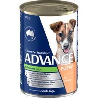 Advance Puppy Plus Lamb Wet Dog Food - 410g