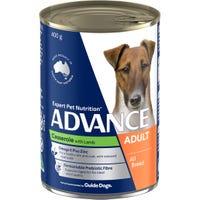 Advance Adult Lamb Casserole Wet Dog Food - 400g