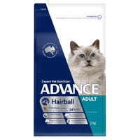 Advance Adult Cat Hairball Chicken Dry Cat Food - 2kg