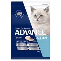Advance Kitten Growth Chicken Dry Cat Food - 6kg