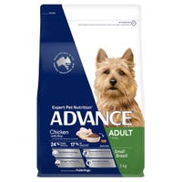 Advance Adult Small Breed Chicken Dry Dog Food - 3kg