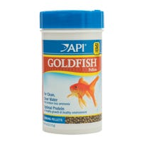 API Goldfish Pellets Sinking Fish Food - 113g