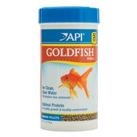API Goldfish Pellets Sinking Fish Food - 198g