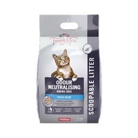 Trouble & Trix Odour Neautralising Baking Soda Clumping Cat Litter - 7L