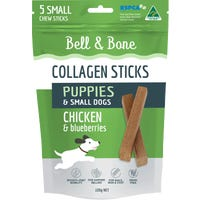 Bell & Bone Collagen Chew Sticks for Puppies and Small Dogs - Chicken