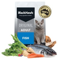 Black Hawk Feline Adult Fish Dry Cat Food - 8kg