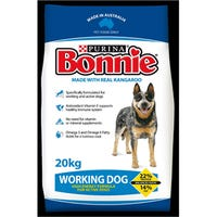 Bonnie Working Dog Dry Dog Food - 20kg