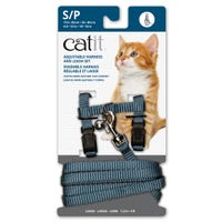 Catit Blue Cat Harness and Lead  - Small