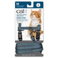 Catit Blue Cat Harness and Lead  - Medium