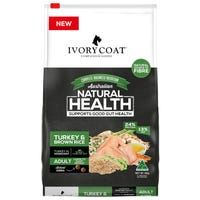 Ivory Coat Wholegrain Adult Large Breed Turkey Dry Dog Food - 18kg