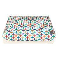 FuzzYard Jenga Big Dreamer Pillow Dog Bed - Medium