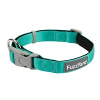 FuzzYard Lagoon Green Dog Collar - Small