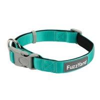 FuzzYard Lagoon Green Dog Collar - Large