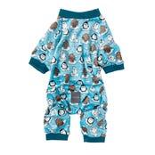 Fuzzyard Pyjamas Arctic Age Dog Coat - Size 7