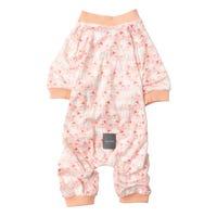 Fuzzyard Pyjamas Counting Sheep Peach Dog Coat - Size 6