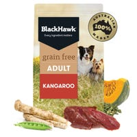 Black Hawk Grain Free Adult All Breed Kangaroo Dry Dog Food - 2.5kg