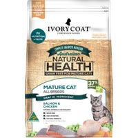 Ivory Coat Mature Chicken & Fish Dry Cat Food - 3kg