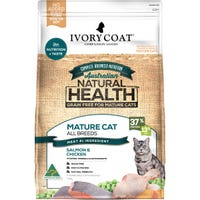 Ivory Coat Mature Chicken & Fish Dry Cat Food - 6kg
