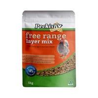 Peckish Free Range Layer Mix Chicken Food - 5kg