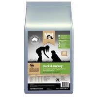 Meals for Mutts Grain Free Duck & Turkey Dry Dog Food - 20kg