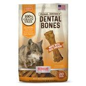 Nylabone Primal Instinct Chicken Regular Dental Dog Treats - 20pk