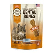 Nylabone Primal Instinct Chicken Large Dental Dog Treats - 6pk