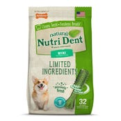Nylabone Nutri Dent Fresh Breath Mini Dog Treats - 32pk