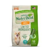 Nylabone Nutri Dent Fresh Breath Small Dental Dog Treats - 10pk