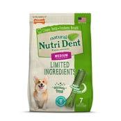 Nylabone Nutri Dent Fresh Breath Medium Dental Dog Treats - 7pk