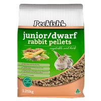 Peckish Junior Dwarf Rabbit Food - 1.25kg