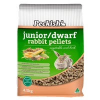 Peckish Junior Dwarf Rabbit Food - 4.5kg