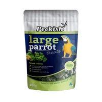 Peckish Large Parrot Greens Bird Treats - 200g